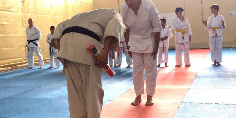 Cambiando de deporte, del triatlón al karate